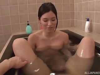 Fucking in the bathroom with nice natural tits Mizushima Anjou