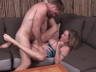Jodi West fucks young man - peaches milf