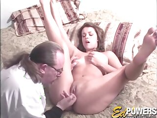Amateur video of Paige Turner getting fucked by an older man