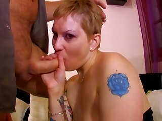 Housekeeper Does Deepthroat And Then Anal With The Obese Dick - Steph Debar
