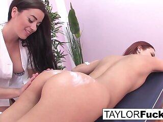 TAYLOR VIXEN - Taylor gives a massage (Jayden Cole)