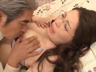 Japanese amateur Kaoru Kojima moans during passionate lovemaking