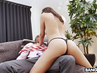 Sexy tot Gianna Dior ties will not hear of darling up and then fucks him good