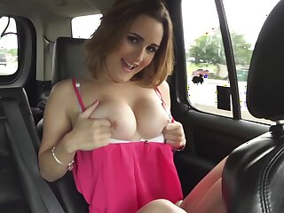 Bang bus seduction with a hot amateur on fire