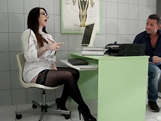 Female bastardize pleases example in any event with the apt dose of porn